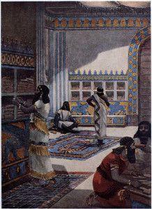 The_famous_library_of_king_Ashur_bani_pal_at_nineveh-420